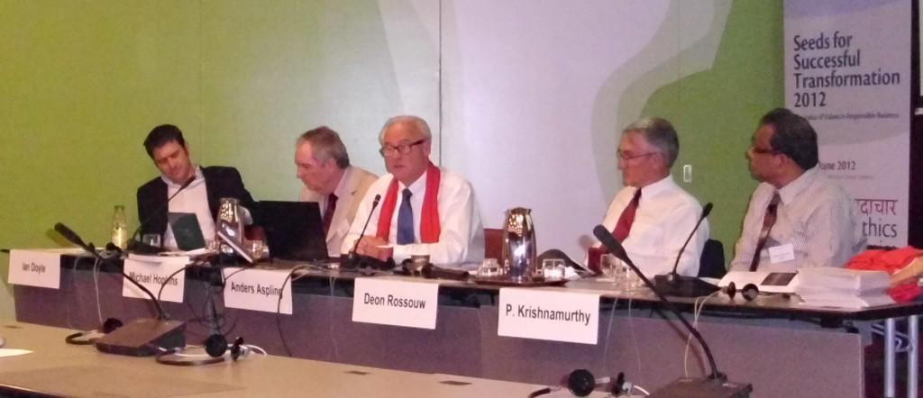 GEF 2012 Panel